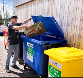 Afvalcontainers | Milieu Service Nederland